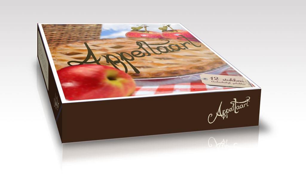 Verpakking Appeltaart