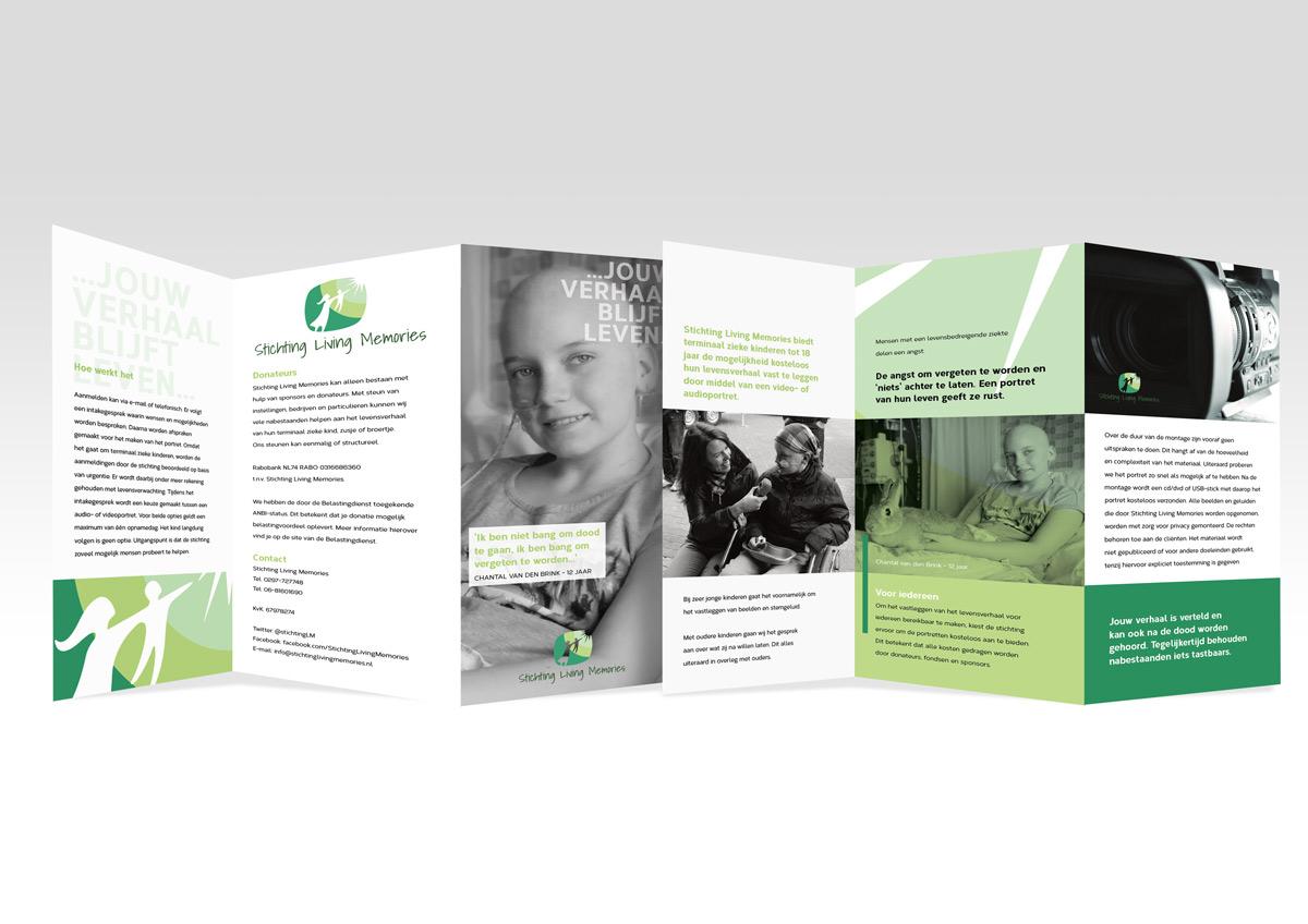 Stichting Living Memories brochure door You're On!