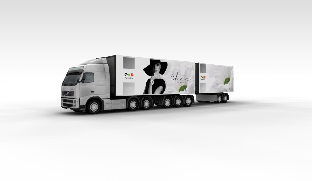 royal van zanten vrachtwagen Chic