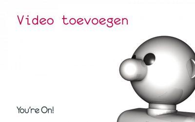 Video toevoegen